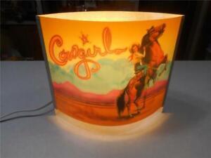 ENCHANTED LANTERN TV/TABLE LAMP~COWGIRL~H