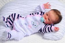 Strampler SCHLAFANZUG Baby Anzug mit Druckknöpfe Overall 56 62 68 74 Einteiler