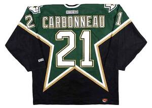 6237fe627 Image is loading GUY-CARBONNEAU-Dallas-Stars-1999-CCM-Throwback-Away-