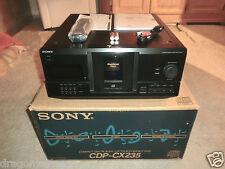 Sony CDP-CX235 200-fach CD-Wechsler, OVP&NEU, 2 Jahre Garantie