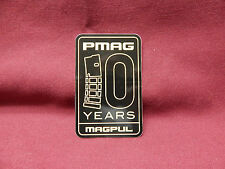 MAGPUL PMAG 10 YEARS FIREARMS HUNTING TACTICAL GEAR GUN STICKER DECAL