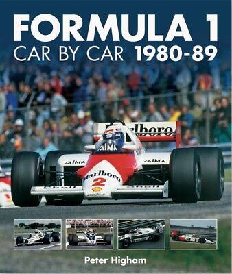 Formula 1 Car By Car 1980-89 (formel 1 Autos Teams Bilder Daten) Buch Book F1