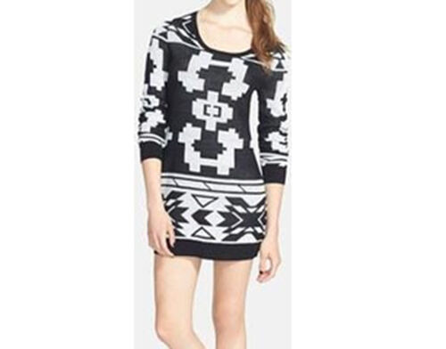 Element Alpen Pullover Kleid (M) Schwarz