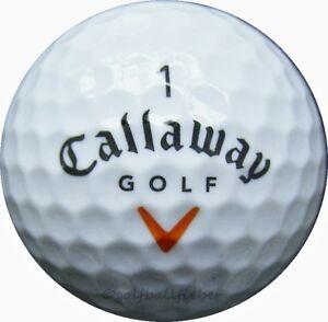 50-Callaway-HX-Hot-Golfbaelle-im-Netzbeutel-AAAA-Lakeballs-gebrauchte-Baelle-Golf