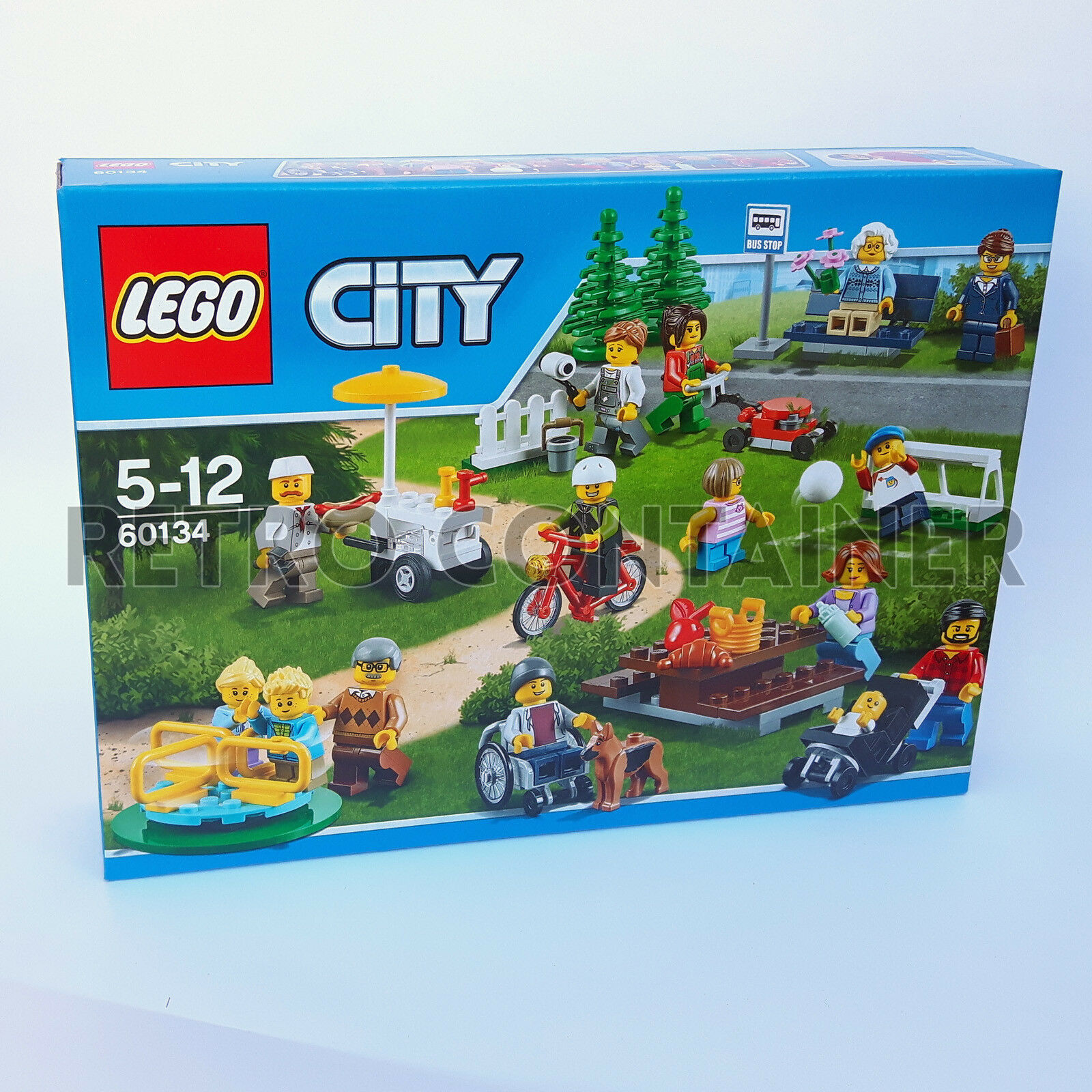 LEGO NEW Set MISB Sigillato 60134 Fun in in in The Park Minifigures City People Pack 7d418d