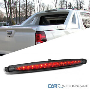 details about for chevy 07 12 avalanche led rear 3rd third brake light smoke  2014 chevy suburban tahoe yukon