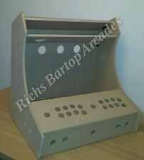 WIDESCREEN BARTOP ARCADE MACHINE 2 PLAYER DIY FLAT PACK KIT