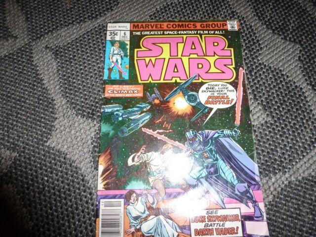 Star Wars #6 (Dec 1977, Marvel) 6 Dec 02817