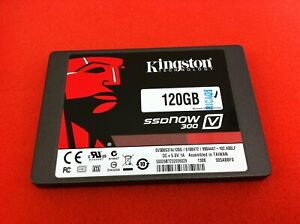 "Kingston SSDNow V300 SV300S37A/120G 120GB 2.5"" SATA Solid State Drive - HD456"