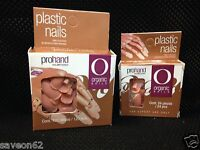Organic Nails. Prohand. Replacement Plastic Nails 24 Or 120 Pcs. Repuesto Uñas