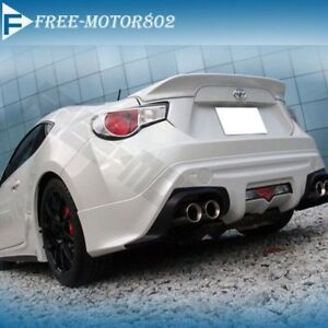 For 13 17 Scion Frs Fr S Subaru Gt86 Abs Trunk Spoiler Wing