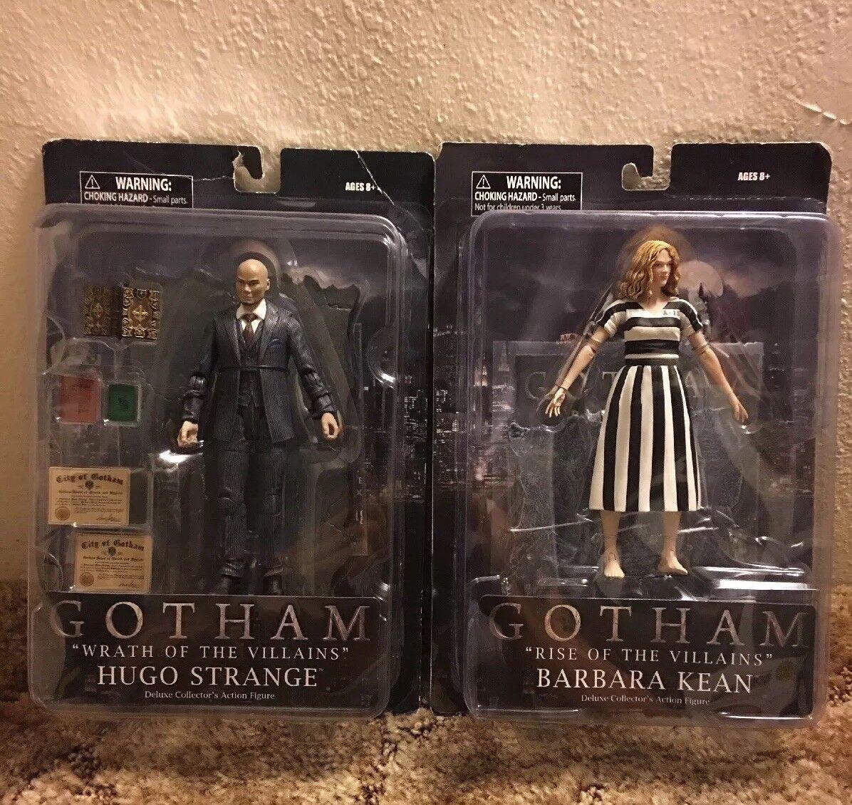 Gotham Hugo Strange Barbara Kean Wrath Of villains Rise Of The Villains Deluxe
