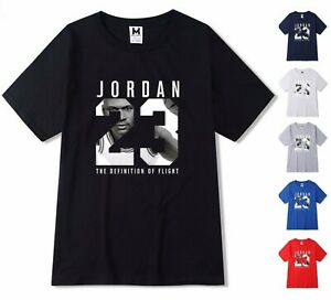NEW-Mens-T-shirt-Michael-Air-Legend-23-Jordan-Men-shirt-Tops-Graphic-Tumblr