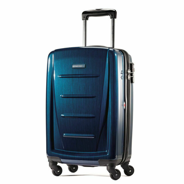 Samsonite Winfield 2 Fashion 20 Spinner Luggage - Deep Blue - $74.99