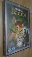 BAMBI DISNEY DVD - RARER DIAMOND EDITION COVER - USED - READ DESCRIPTION - UK