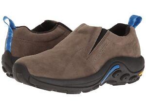monia muodikkaita julkaisutiedot 100% aito Details about NEW Mens Merrell Jungle Moc Ice+ Waterproof Slip On Gunsmoke  Brown Hiking Shoes