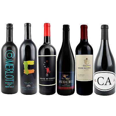 Holiday Reds - 6 Bottles of Wine - 6 Varieties