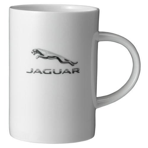 Jaguar Collection Genuine Fine Bone China Leaper Logo Mug 50JRCORPMUG14