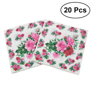20pcs-Flower-Napkins-Printed-Lunch-Dinner-Floral-Napkin-Paper-for-Banquet-Party