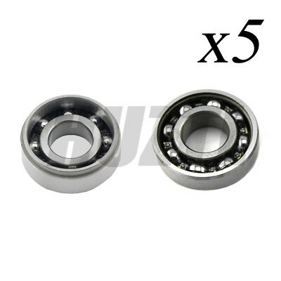 5X Crankshaft Crank Grooved Ball Bearing For Stihl MS360 MS340 036 034 Chainsaw