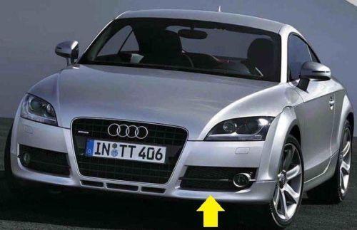 Neu Original Audi Tt Mk2 06-14 8j Vorne Stoßstange Linke Seite Nebel Gitter