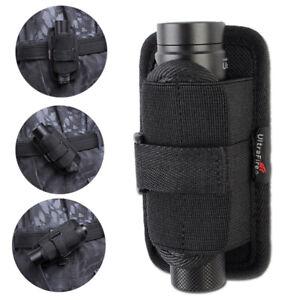 UltraFire Rotatable Flashlight Torch Pouch Holster Belt Clip Holder 360 Degrees