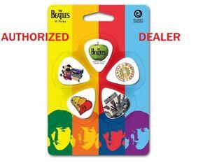 Beatles-Collector-Guitar-Picks-Albums-10-pack-Medium-D-039-Addario-1CWH4-10B3