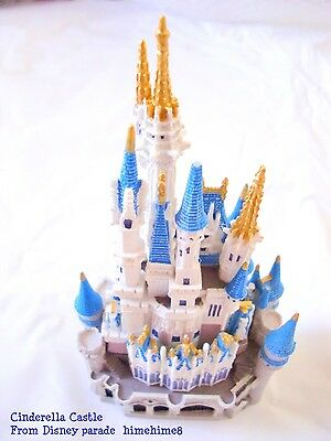 Disney Parade Sleeping Beauty Castle US Disneyland Diorama Miniature Cinderella