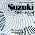 Suzuki Violin School, Volume 2 by Suzuki Method International (CD-Audio, 1995)