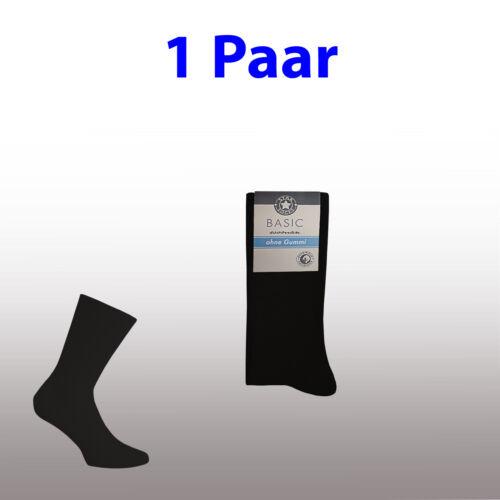 1-50 Socken Damen 100/% Baumwolle Freizeit Business ohne Gummi Gr 35-38 39-42***