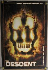 LOT OF 2 THE DESCENT ORIG MINI THEATER PROMO POSTER HORROR GORE (2005) (2 VERS)