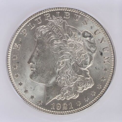 1921 Silver Morgan Dollar ICG MS64 S$1 Lot of 1