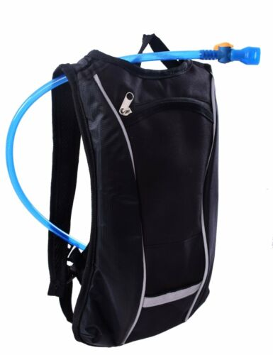 1.5L CYCLING HYDRATION FLUID WATER RESERVOIR BLADDER BAG OUTDOORS RUCKSACK BLACK