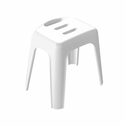 Vivawell Stool Bathroom Stool White Tüv Tested Safety Security Swiss Design