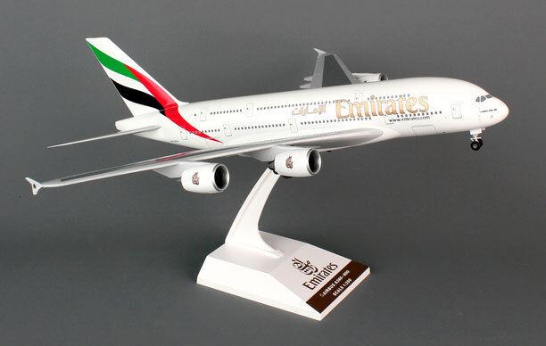 Emirates - airbus a380 - 800  200 skymarks skr698 modell neu mit fahrwerk a380