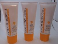 Avon Techniques Scalp Treatment With Alpha Hydroxy Acids Lot Of 3