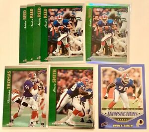 1997-Topps-Chrome-Buffalo-Bills-Set-12-Reed-Thomas-Smith-Moulds-Refractor