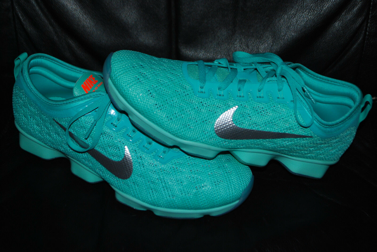 NEW Womens Nike Zoom Fit Agility Hyper Hyper Hyper Jade Training shoes (9.5, 10) 684984-300 f0f520