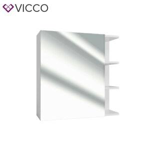 VICCO-Badspiegel-FYNN-62-x-64-cm-weiss-Spiegel-Spiegelschrank-Wandspiegel