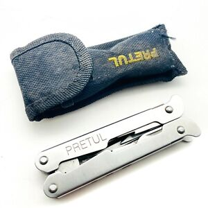 Pretul - Multi Tool Pliers / Screwdriver / Folding Knife / Opener - w/ Sheath