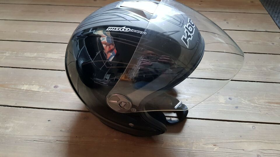 Hjelm, KBC motodesign, str. Small 53-54/xxl 63-64