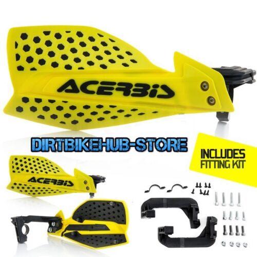 Acerbis X-Ultimate MX Motocross Handguards Yellow//Black Suzuki RM 125 250 2004