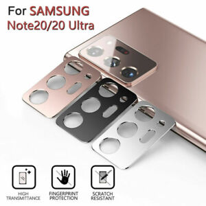 For Samsung S21 Note 20 Ultra S20FE 5G Camera Lens Screen Protector Case Cover