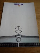 MERCEDES BENZ 250 CAR BROCHURE 1968 /. 69 jm.