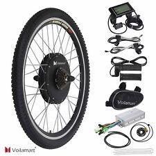 "Hinterrad 26"" 48V 1000W Elektro-Fahrrad Kit Ebike Elektrofahrrad Umbausatz LCD"