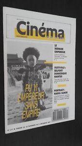 Rivista Settimanale Cinema N°417 Del 25 Novembre Au 2 Dicembre 87