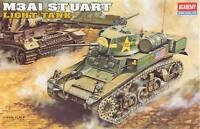 Academy Snowboard 1/35 M3A1 Stuart Light Tank with Interior Toys