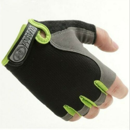 1 Pair Unisex Bicycle Gloves Fitness-Sports Half-Finger Protection Cycling Gear