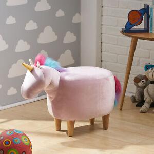 Chloe Velvet Unicorn Ottoman | eBay