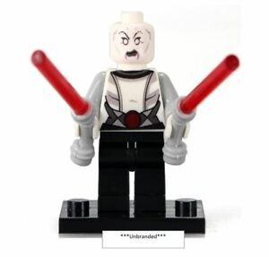 Asajj-Ventress-Star-Wars-CUSTOM-LEGO-Minifigure-Mini-Fig-The-Clone-Wars